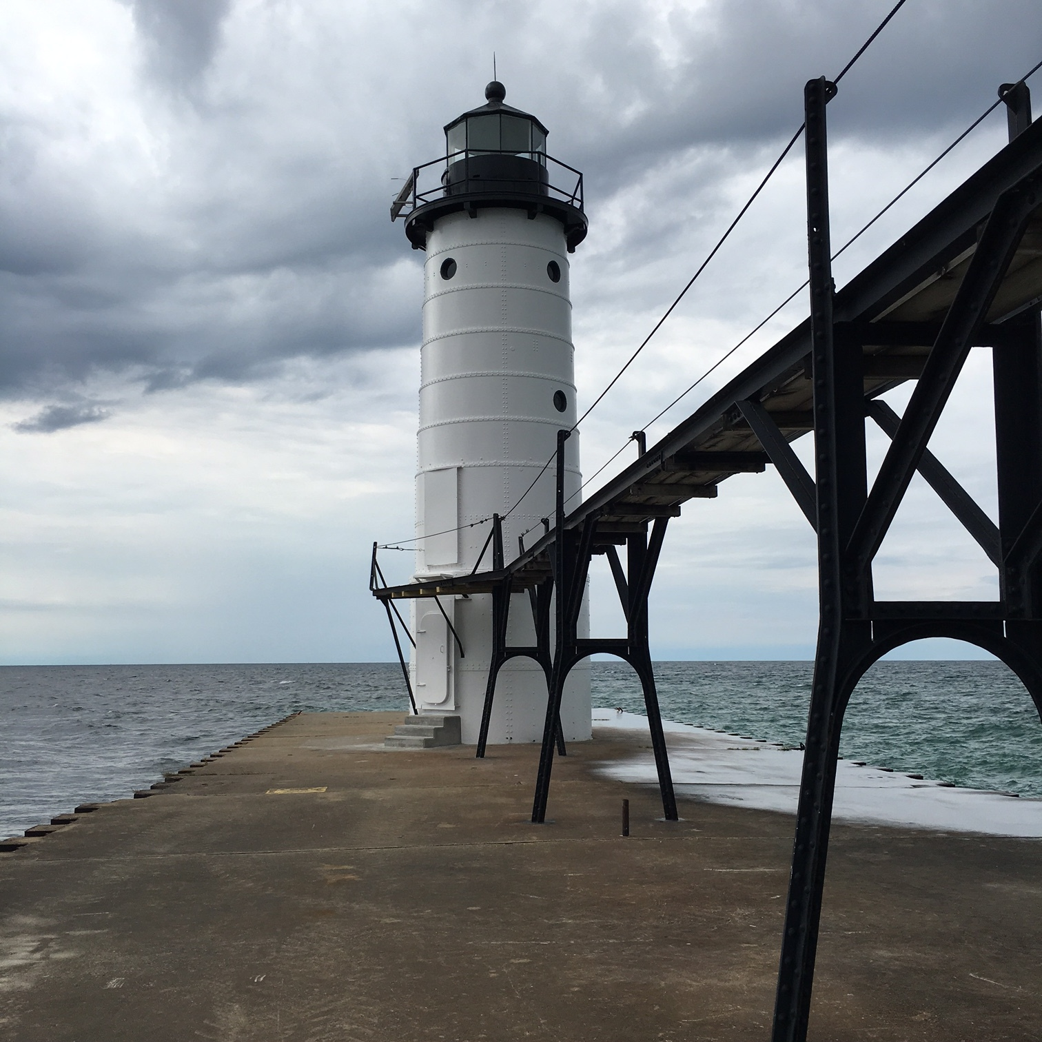 Manistee Lighthouse Exterior Restoration Completed